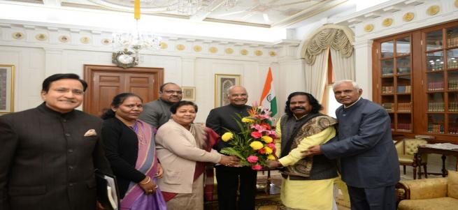 MEETING WITH HON'BLE PRESIDENT OF INDIA