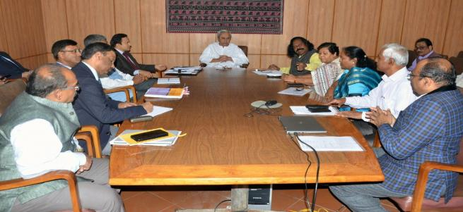 MEETING WITH HON'BLE Chief Minister of Odisha