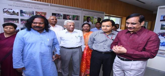 Anthropological Survey of India (AnSI) exhibition held an  PVTGs